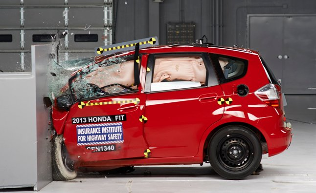 honda fit crash test iihs