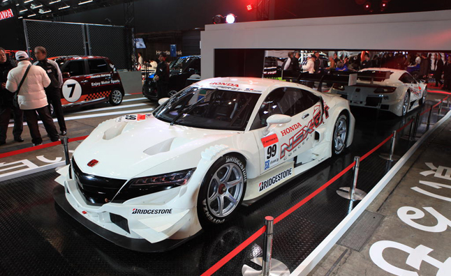 Honda NSX-GT Race Car Makes Tokyo Auto Salon Debut