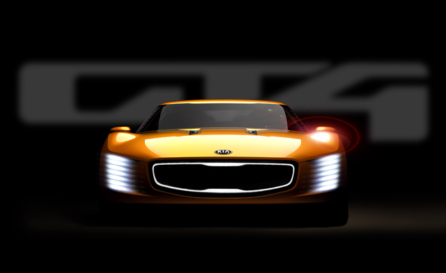 Kia GT4 Stinger Concept Sends 315 HP to Rear Wheels