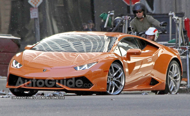 Lamborghini Huracan Photos: First Live Pictures