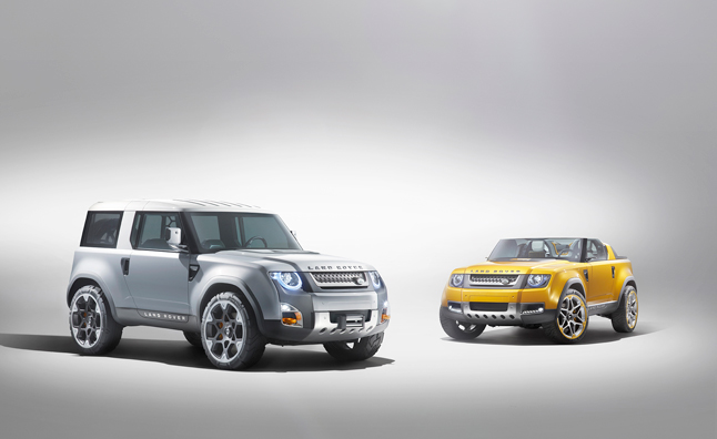 Land Rover Applies to Trademark 'Landy'