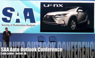 Lexus LF-NX Leaked in Presentation  Video