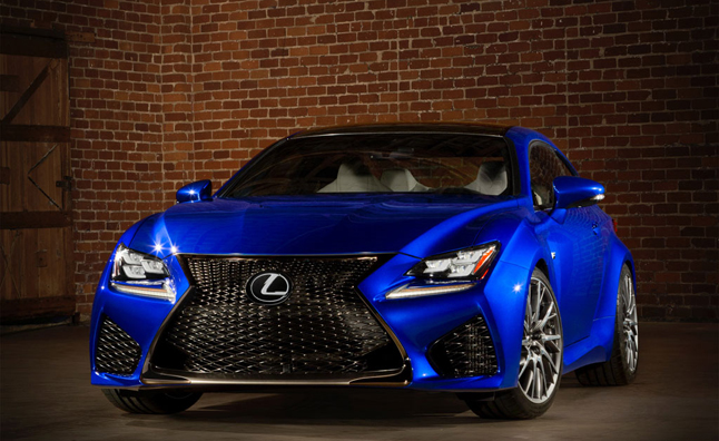 Lexus IS F CCS-R Used to Test RC F Engine: Report