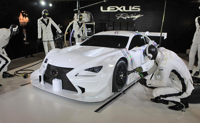 Lexus RC F GT500 is Just Plain Fast Looking