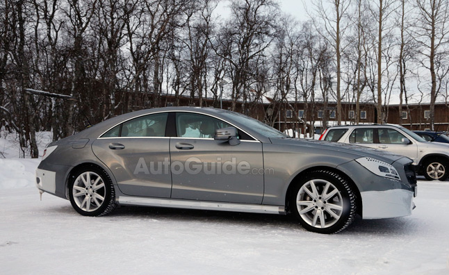 Mercedes-Benz CLS Spied with Updated Interior