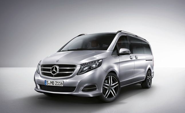 Mercedes Might Sell a Minivan in America, and This is it