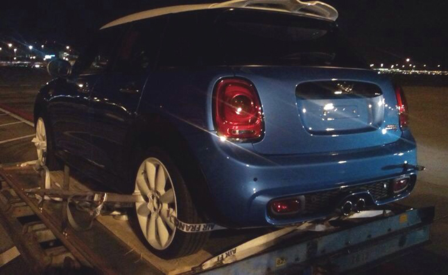 New MINI Five-Door Hatch Spotted