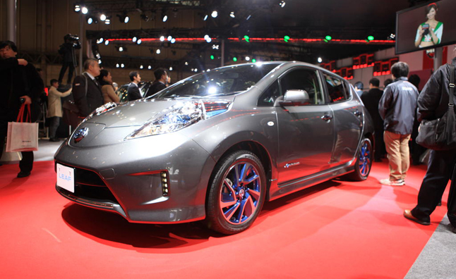 Nissan Leaf Aero Style Hints at Future Design