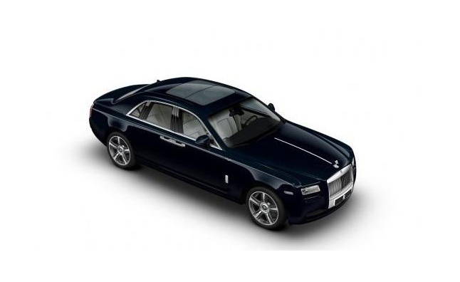 Rolls-Royce Ghost V-Spec Boasts 601 HP