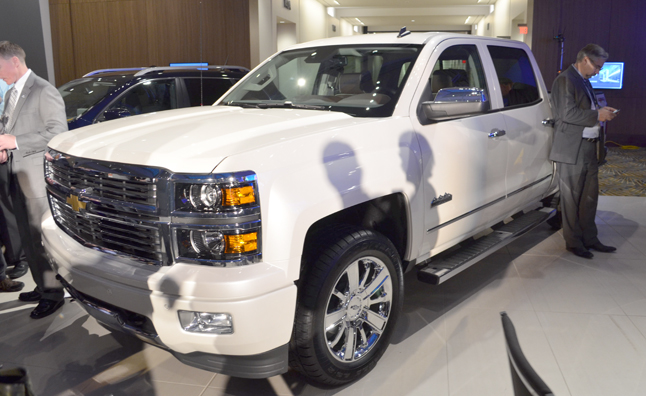 Chevy Silverado Named 2014 North American Truck of the Year