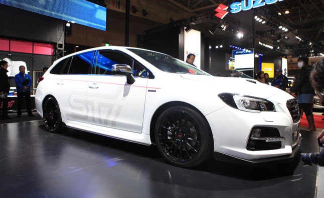 Subaru Levorg STI Concept Previews Performance Wagon