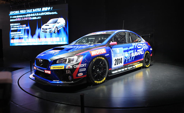 2015 Subaru WRX STI Endurance Racer Revealed
