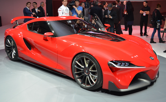 Toyota FT-1 Concept is a RWD Stunner