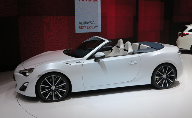 Scion FR-S Convertible Still Under Study