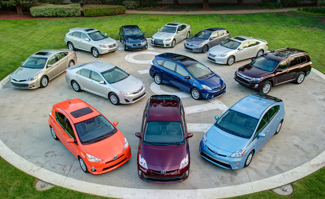 Toyota Hybrid Sales Top 6M Worldwide