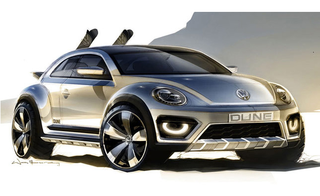 VW Beetle Dune Concept is a Modern Day Dune Buggie