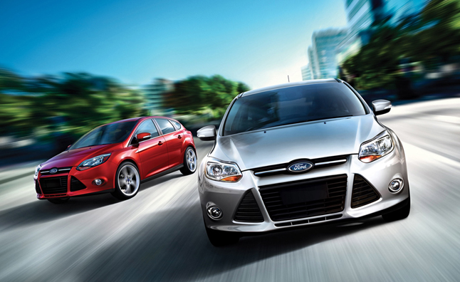 2014 Ford Focus Hero Shot