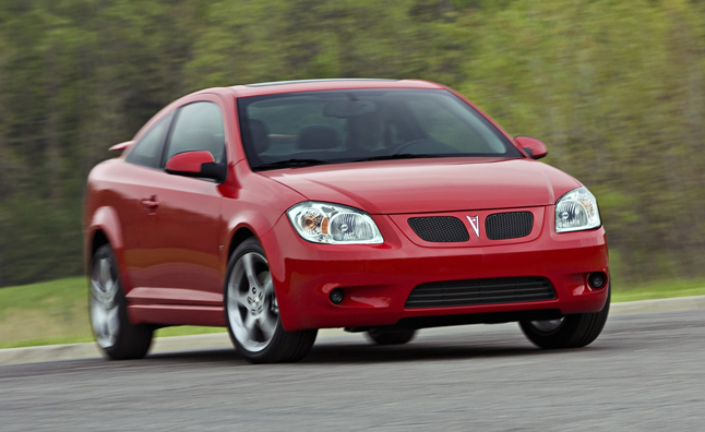 Chevy Cobalt, Pontiac G5 Recall Affects 778,000 Cars