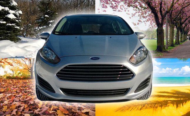 2014 Ford Fiesta SE Five Door Main Art