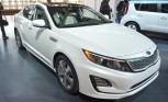 2014 Kia Optima Hybrid Receives Tiny Tweaks