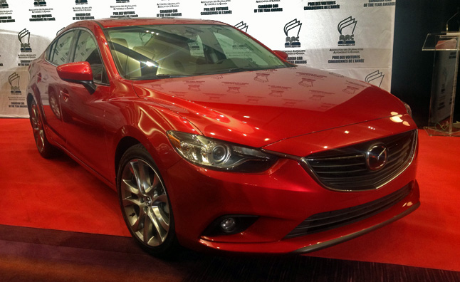 2014 Mazda6 Named Canadian Car of the Year