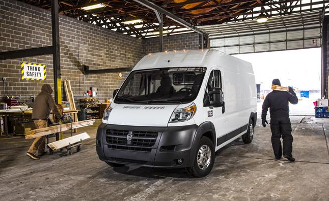 2014 Ram ProMaster Van Recalled for Brake Problem