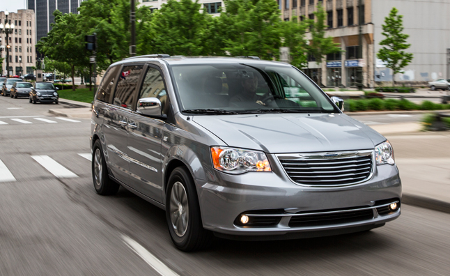 2014 Chrysler Town & Country Priced at $31,760
