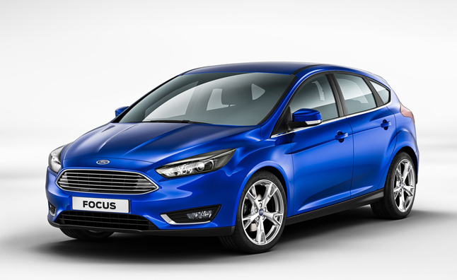 2015 Ford Focus Leaked with Fusion Front End