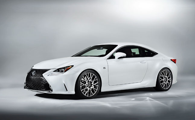 2015 Lexus RC 350 F Sport Detailed Before Geneva