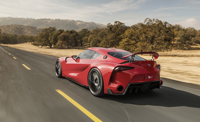 Toyota FT-1 Confirmed as Next-Gen Supra
