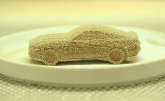 2015 Mustang 3D Printed in Chocolate