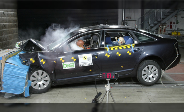 Audi A6 Aces Crash Tests, Surprises No One