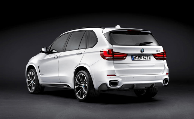 BMW X5 M Performance Parts now Available