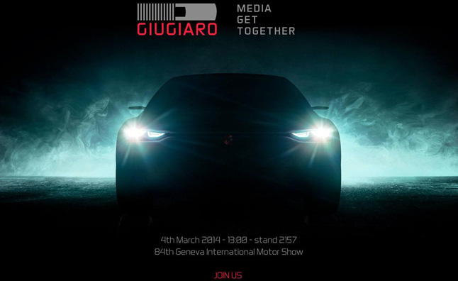 Italdesign Giugiaro Teasing New Concept Before Geneva