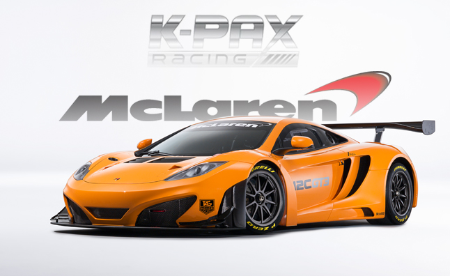 K-Pax Racing to Run McLarens in Pirelli World Challenge