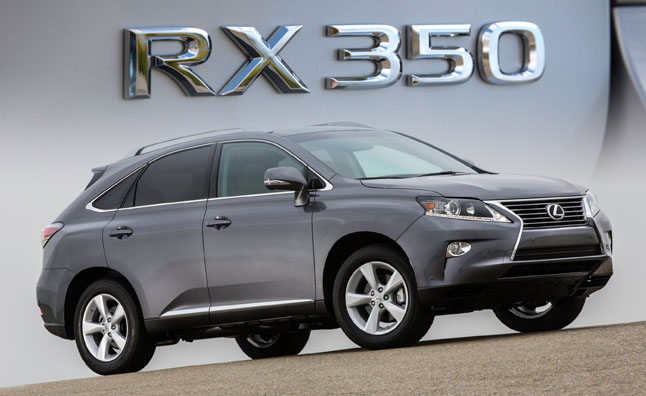 Lexus RX 350 and 450h 'Updated' for 2015