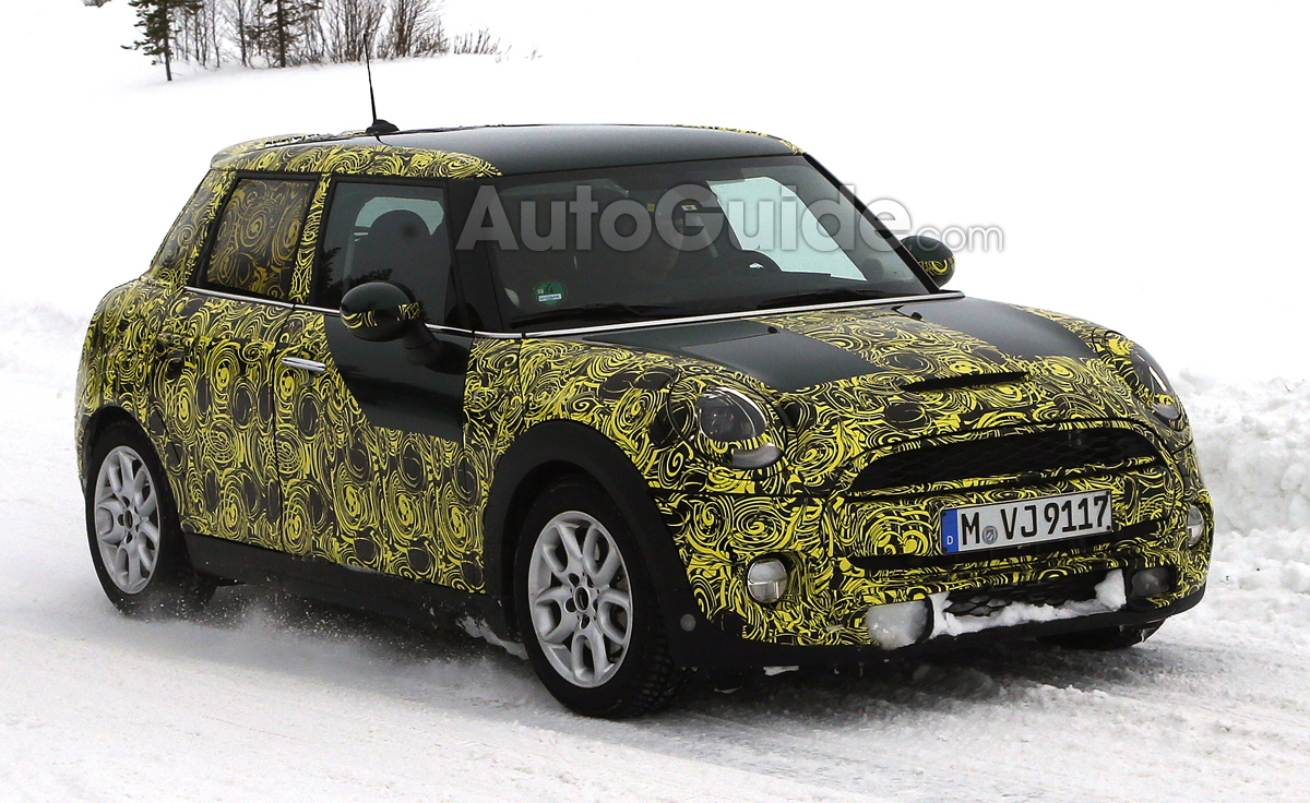 MINI Cooper Five-Door Spied Cold Weather Testing