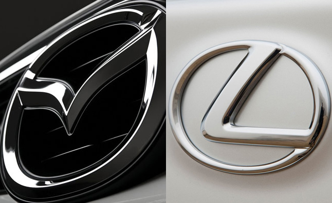 Mazda and Lexus Have Lowest Cost of Ownership