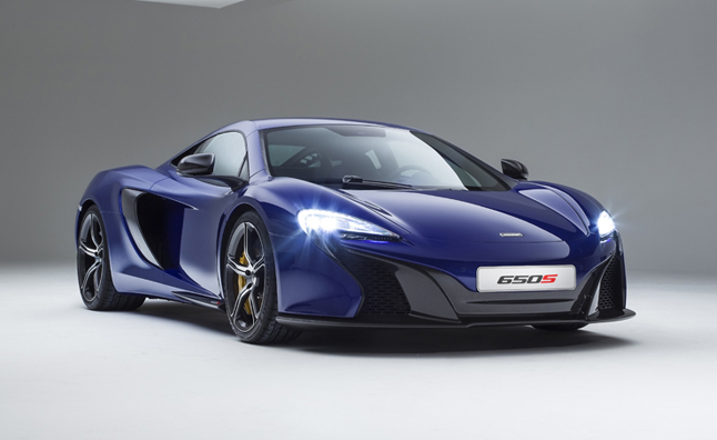 McLaren 650S Officially Revealed