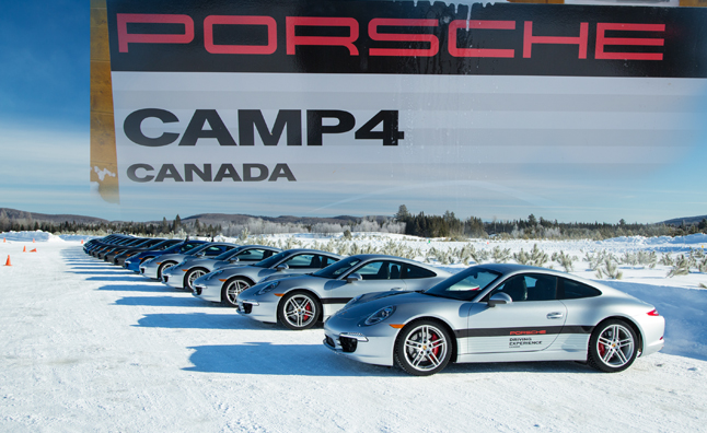Porsche Camp4 Canada: A Lack of Traction in Action