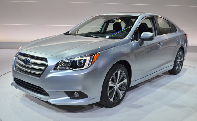 2015 Subaru Legacy Cuts Manual, 3.6R Remains