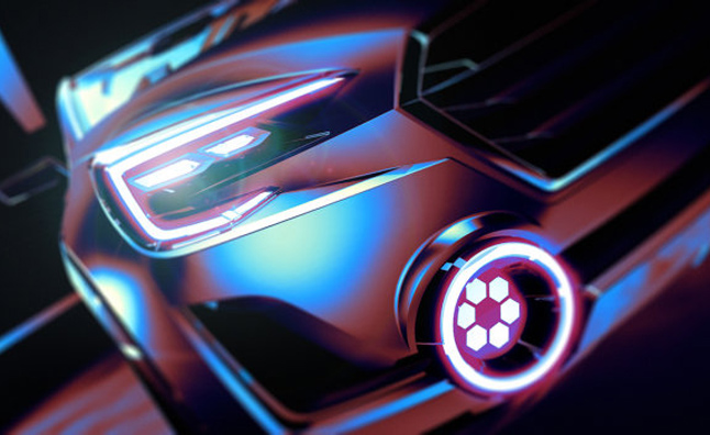 Subaru Viziv 2 Concept Teased Before Geneva Debut