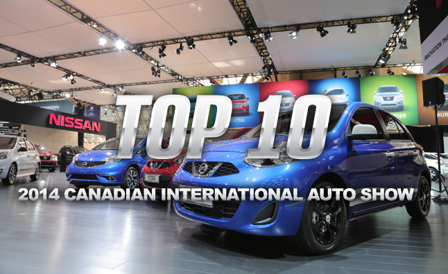 Top 10 Things to See at the 2014 Canadian International Auto Show
