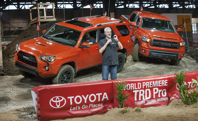 Toyota TRD Pro Trucks Video, First Look