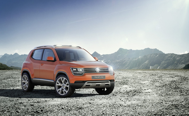 Volkswagen Taigun Concept Debuts in India