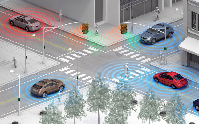 Vehicle-to-vehicle-communication-rendering