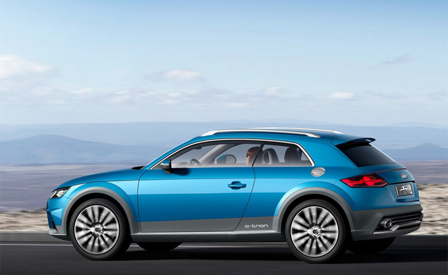 2015 Audi TT Variants may Include Crossover