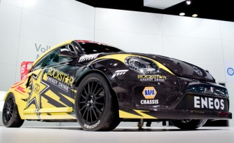 Volkswagen Beetle Global Rallycross Racer Video, First Look