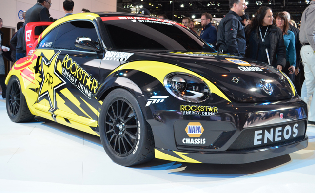 Volkswagen Beetle Global Rallycross Racer Makes Over 560-HP