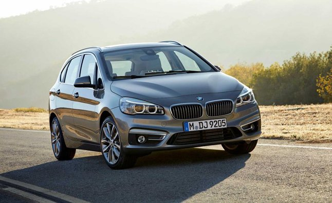 BMW 2 Series Active Tourer Revealed Ahead of Geneva